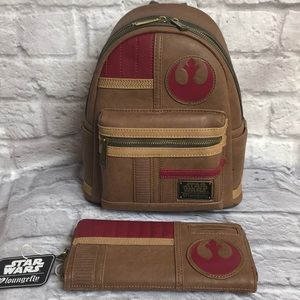 Lounge Fly Star Wars Faux Leather Mini Backpack